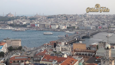 istanbul manzara görüntüsü