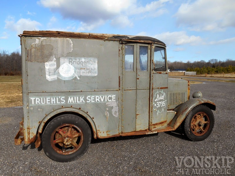 247 AUTOHOLIC: 1936 Divco SF Stand and Drive Milk Truck