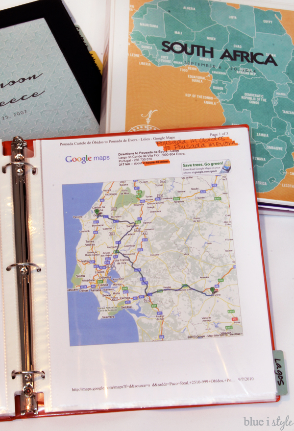organizing with style Create an Organized Travel Binder Free – Fill In Travel Map