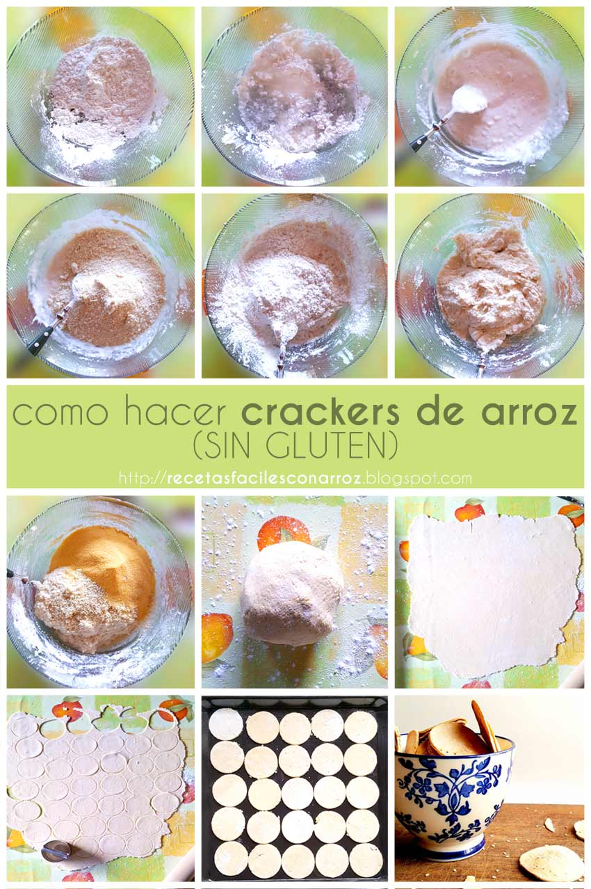foto-tutorial crackers de arroz