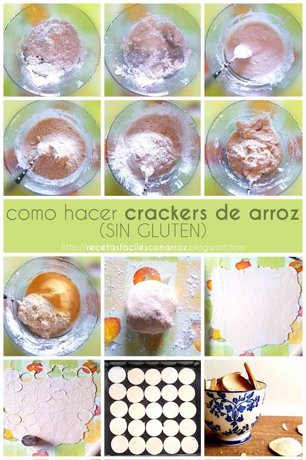 foto-tutorial crackers de arroz