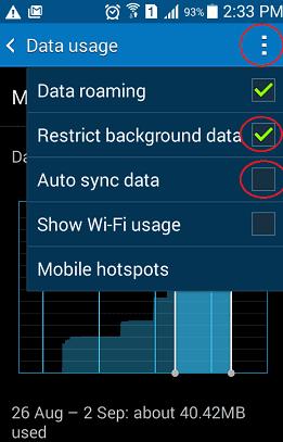 Inilah Cara 5 Tips Untuk Mempercepat  Internet Android Anda Dengan Mengurangi Penggunaan Data 3