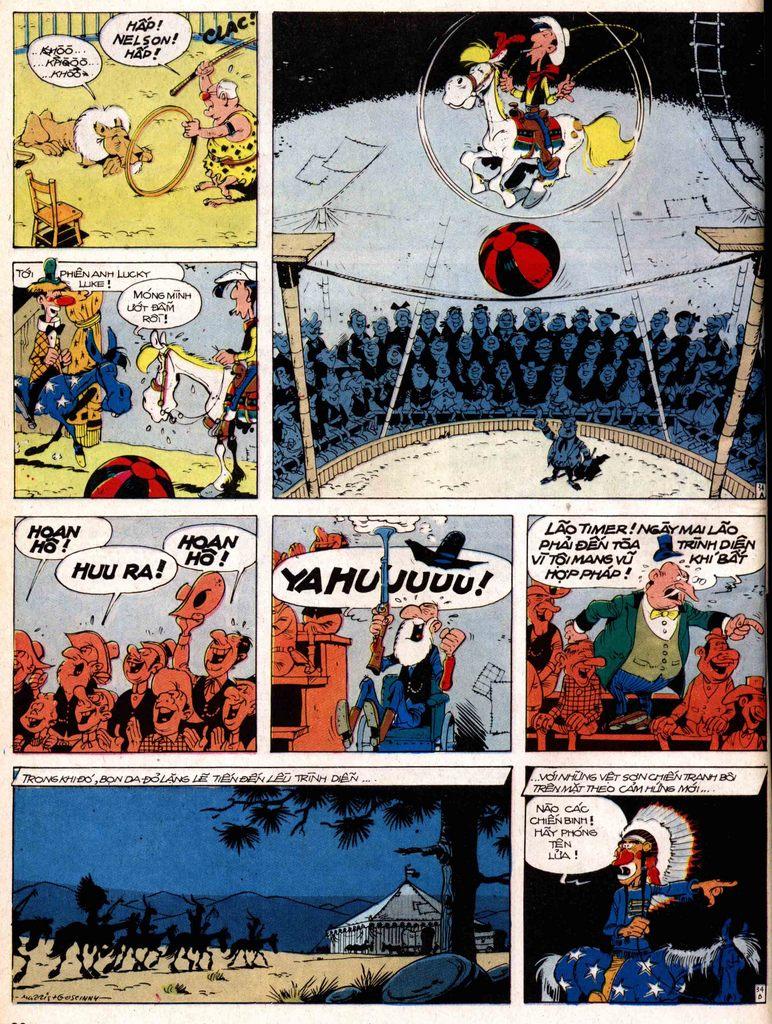 Lucky Luke tap 17 - ganh xiec mien vien tay trang 34