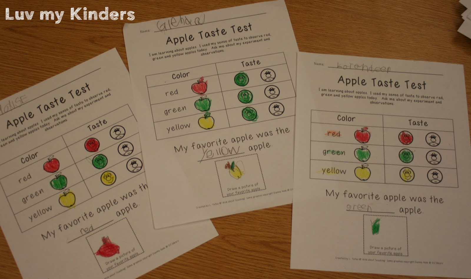 Luv My Kinders Five For Fraturday Loads Of Apples
