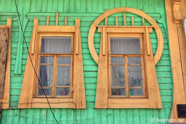 деревянный модерн фото