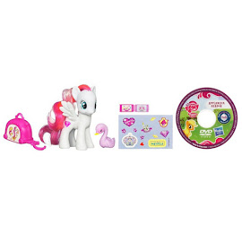MLP Traveling Single with DVD Diamond Rose Brushable Pony