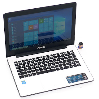 Laptop ASUS X453M White Second Di Malang