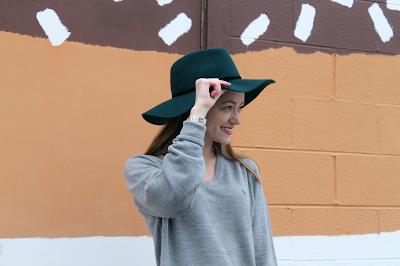 menswear fashion - Dior sweater, green fedora