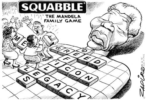 Bado's blog: It's time to let Mandela go, says cartoonist