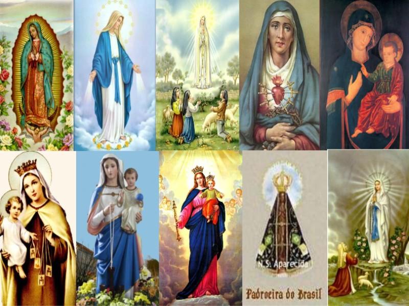 Resultado de imagem para Nossa Senhora é uma só?