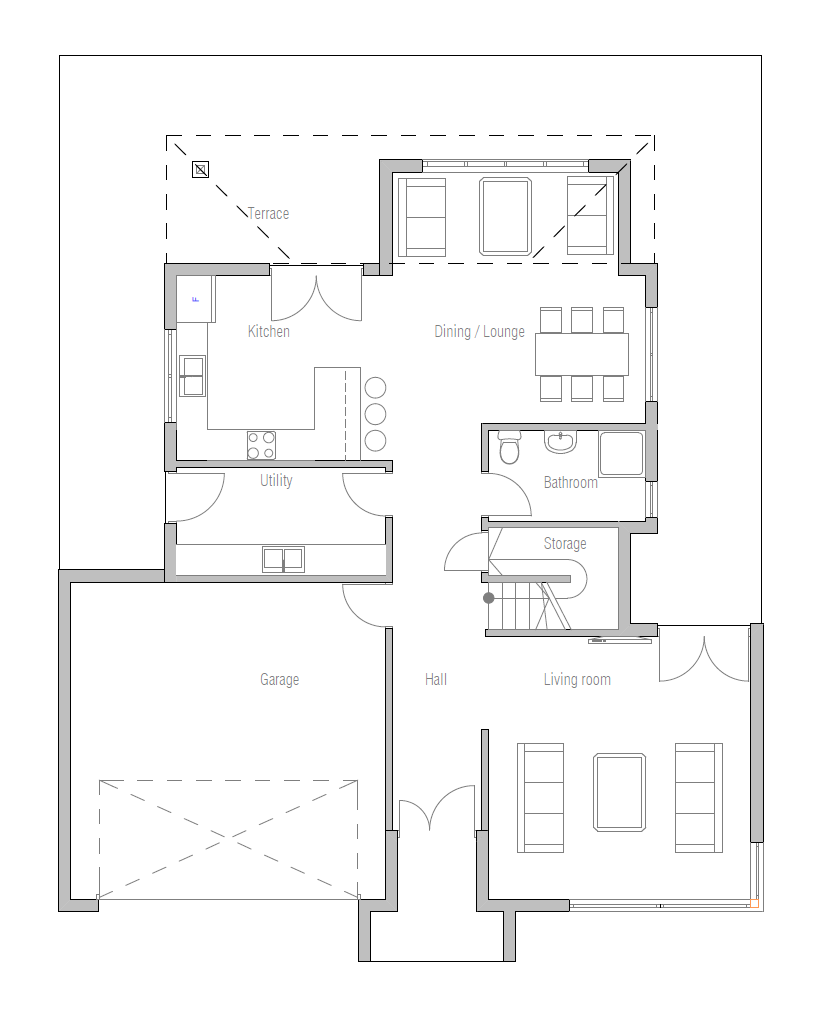 Home Designs Australia Floor Plans: Australian House Plans: Australian House Plan CH236