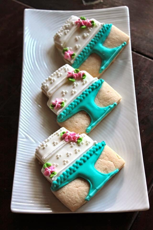 receita biscoitos decorados casamento noiva