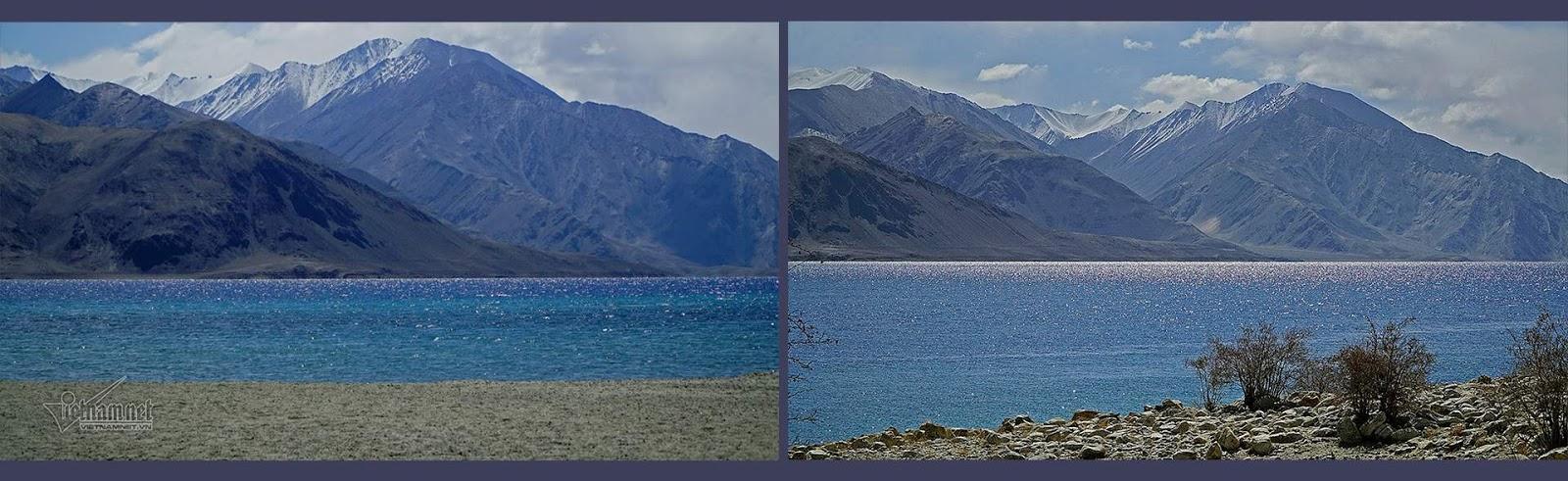 Khám phá vẻ đẹp huyền bí hồ Pangong - Ảnh 12
