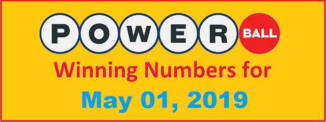 PowerBall Winning Numbers for Wednesday, May 01, 2019