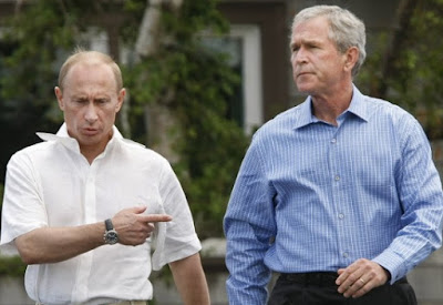 bush putin russia us election