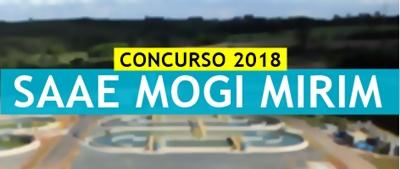 Concurso SAAE de Mogi Mirim 2018