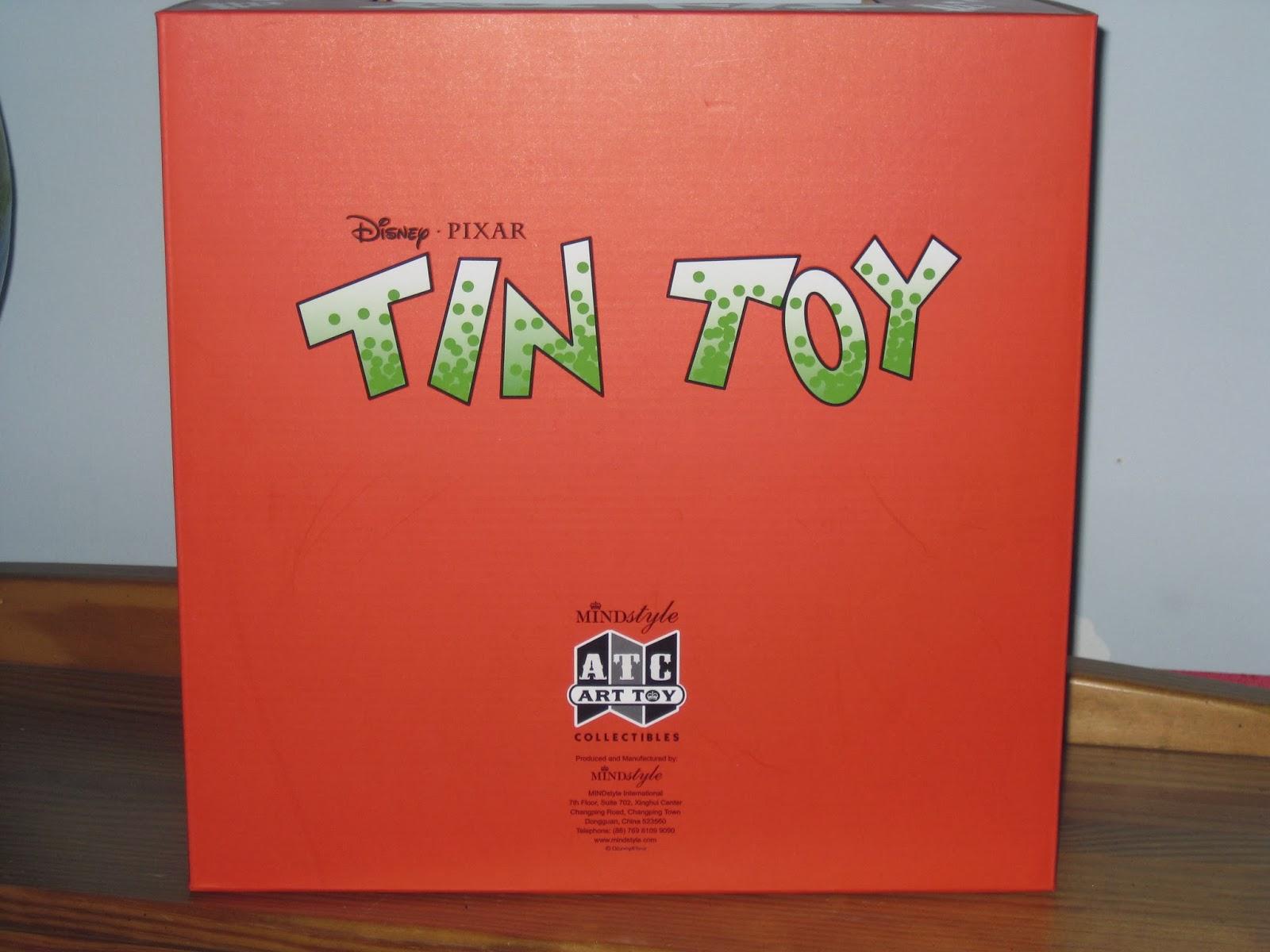 Dan The Pixar Fan Tin Toy Tinny Replica