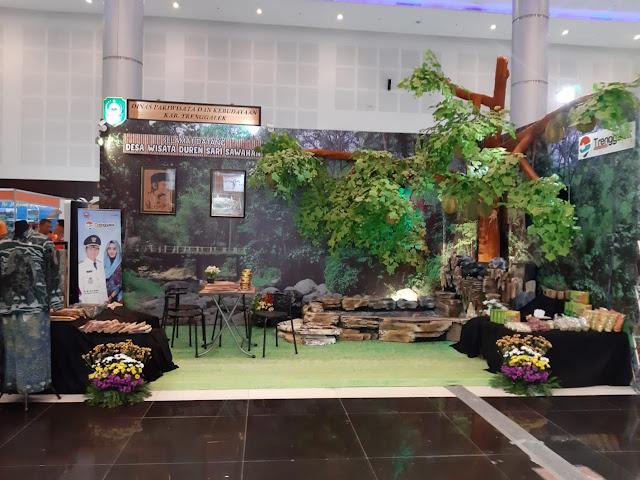 Ambil Bagian dalam Majapahit International Travel Fair 2019, Pemkab Trenggalek Kenalkan Potensi Desa Wisata Sawahan