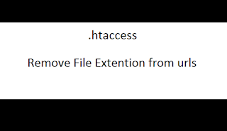 Remove File Extention from Urls