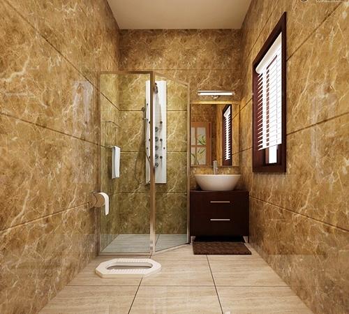 5 Desain Kamar Mandi Menggunakan WC Jongkok   Rumah ...