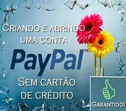 """Paypal """"SEM"""" cartão de crédito"""