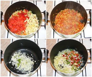 preparare mancare de legume de post, legume calite pentru mancarea de post cu couscous, retete culinare, retete cu legume, preparate din legume, legume gatite inabusit,
