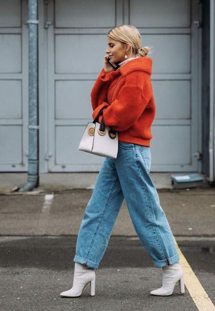zapatos de invierno, tendencias en zapatos, que zapatos se usan, tendencias en calzado de mujer, moda, fashion, como vestir zapatos, como combinar zapatos, botas rojas, botas blancas, estilo, zapatos con estilo