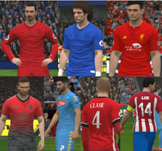 Kits Pack PES 2017 Full v3 by Ggblues