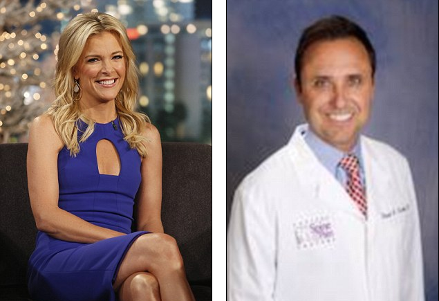 Mismatch: Megyn Kelly and her first husband Dr. Dan Kendall split after eight years together, but not because he was unfaithful. Twice, blonde beauty Kelly told of her hurt at being betrayed, each time saying it was not her current husband Doug Brunt, but never clearing her first hubby