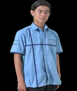baju seragam kerja pria