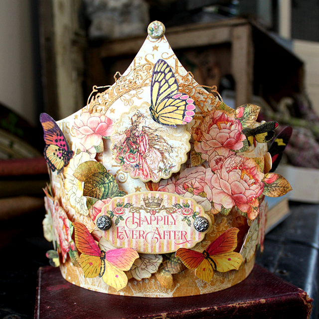 "Graphic 45 ""Princess"" Paper Crowns - Nichola Battilana"