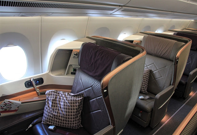 boeing 787-10 singapore airlines business class