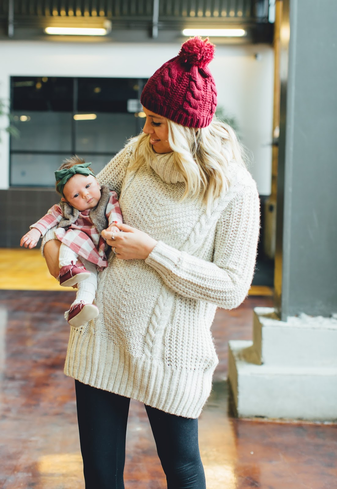 Plaid, Mommy & Me Fashion, Mommy & Me Style