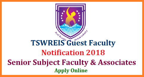 tswreis-subject-faculty-associates-guest-lecturers-Notification-apply-online