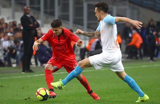 كل ما قدمه يوسف عطال ضد مارسيليا 10-03-2019 الدوري الفرنسي