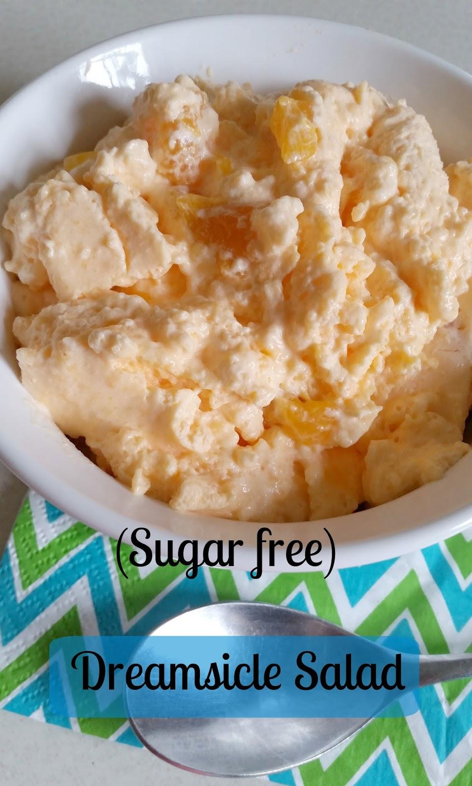 Creamsicle Salad Jello Orange Recipe