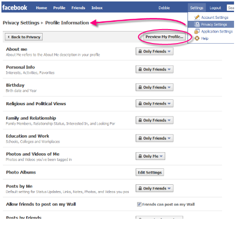 How to make profile completely private on facebook