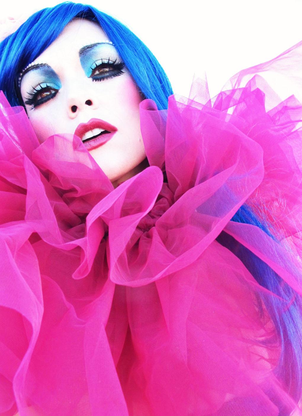 Katy Perry Blue Hair Costume Ideas