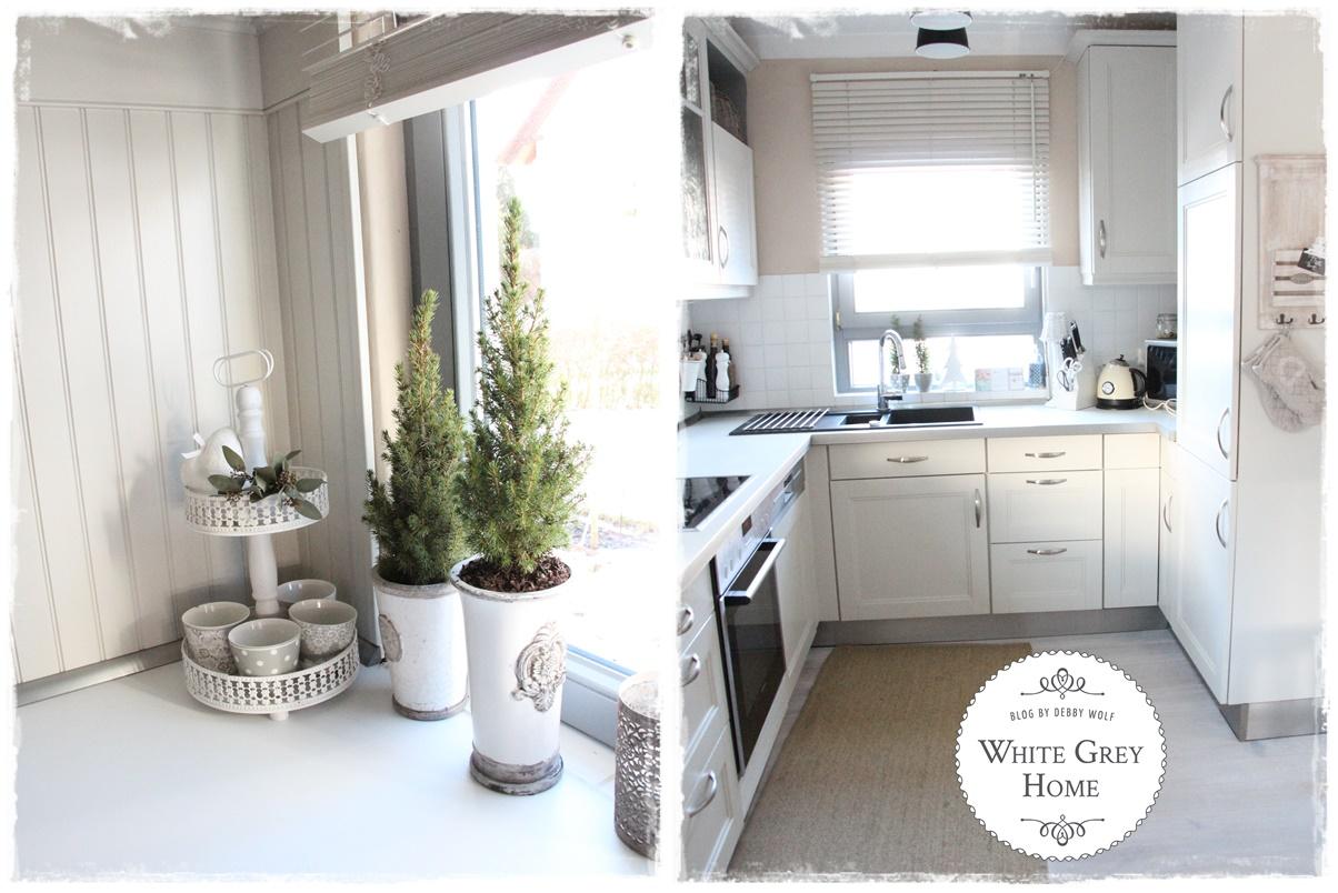 white grey home: Die Küche im Januar