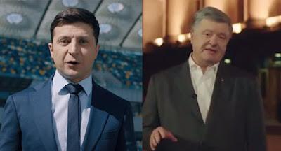 """Порошенко согласился на дебаты с Зеленским на НСК """"Олимпийский"""""""