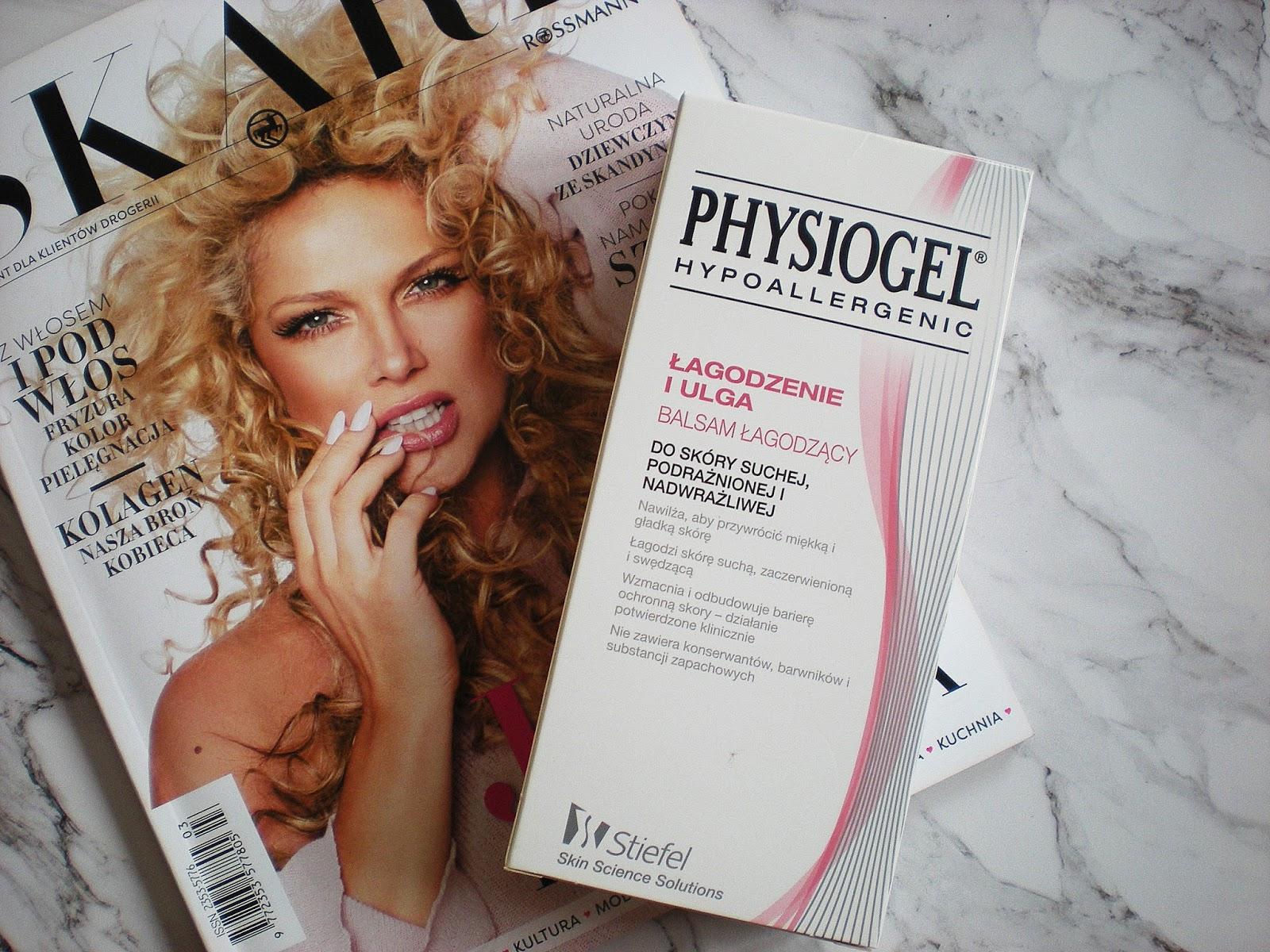 Balsam łagodzący Physiogel - ratunek dla suchej skóry?