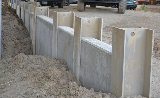 Concrete Panel Garden Walls Project Establishment: Off-ramp work progressing