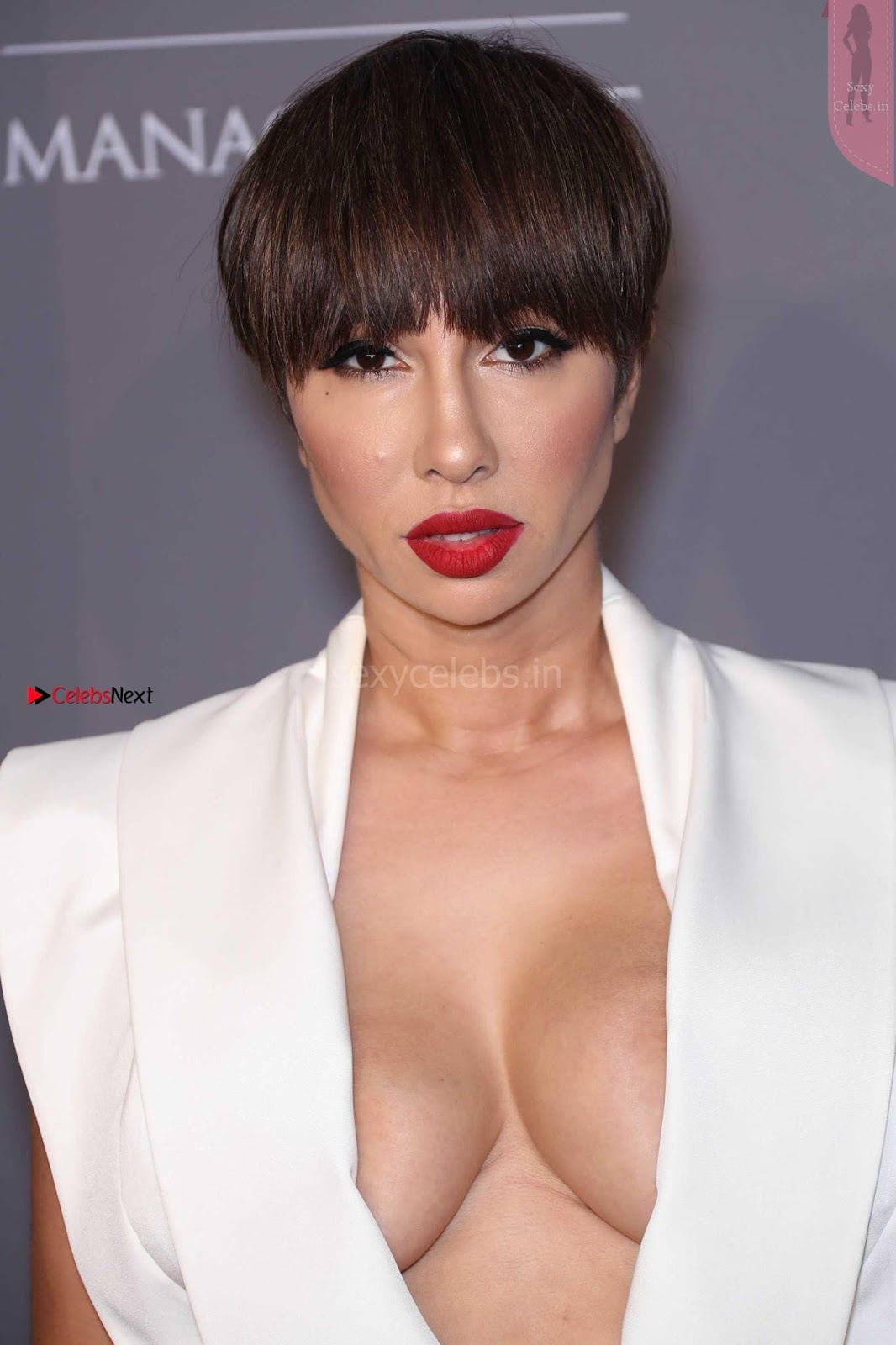 OMG Beautiful boobs of Jackie Cruz at 2018 amfAR Gala in New York ~ SexyCelebs.in Exclusive