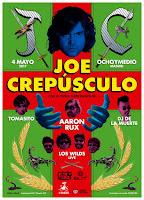 Concierto de Joe Crepúsculo y los Wilds en Ochoymedio