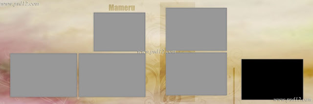 Evergreen 12x36 Album PSD Vol-9 | Photo Book PSD