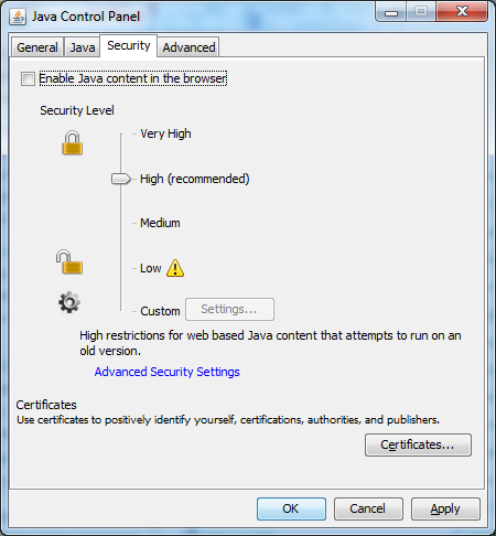 Simon PG Edwards: Howto: Secure Java in three easy steps