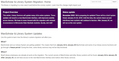 a picture of our online migration guide.