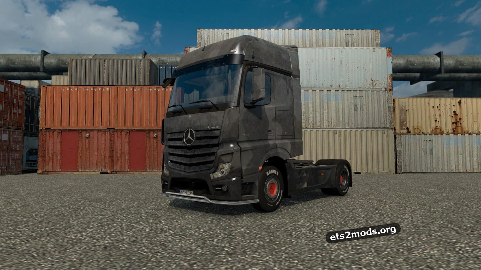 Mercedes Actros 2014 Zinc skin