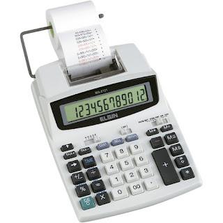 Calculadora de Mesa com bonina Elgin