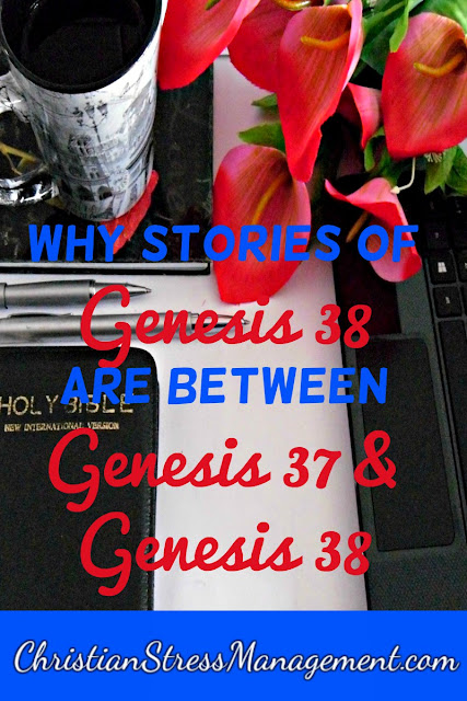 Why Stories of Genesis 38 are between those of Genesis 37 and 39